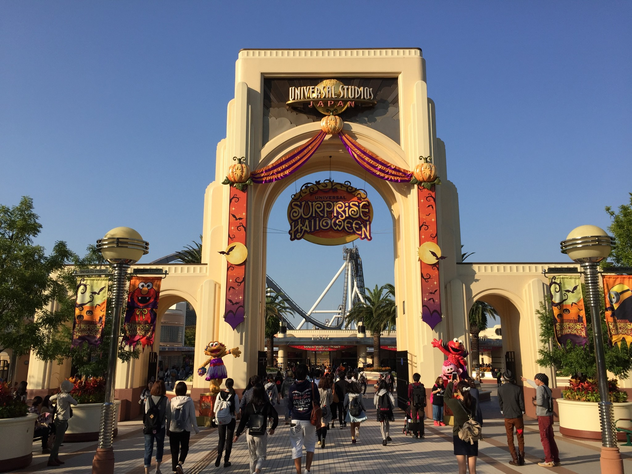How To Get Universal Studios Japan Best Route By Train And Bus Et Ticket Kyoto Tower Adult Ichigo Ichie
