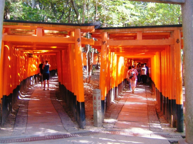 fushimi taisha shrine