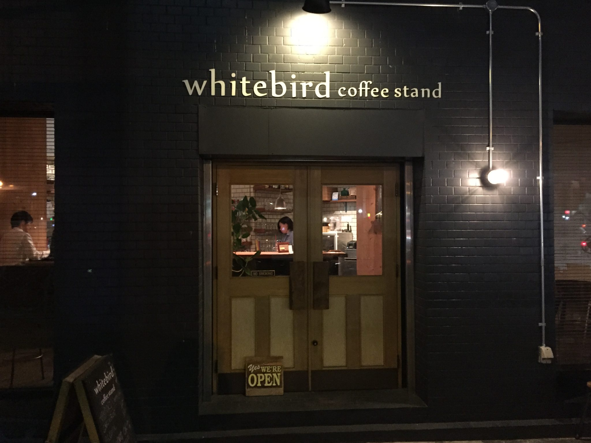 white bird coffee